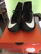 scarpe da calcio nike mercurial Victory VI Fg 40 USA 7 Nere Con Calzino 903609