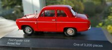 1:43 Vanguards Sunset Red Ford Popular 100E Perfect Condition Cased & Boxed