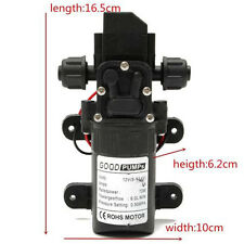 DC12V 130PSI 0.90MPA 6L/Min Water High Pressure Diaphragm Self Priming Pump 70W
