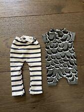 Hazel Village Striped Pants + Feathers Romper For Doll/animal