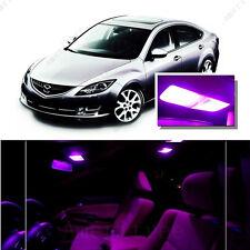 For Mazda 6 14-16 Pink LED Interior Kit + Pink License Light LED