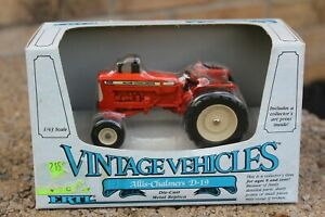 ERTL VINTAGE VEHICLES ALLIS-CHALMERS TRACTOR D-19 NEW IN BOX