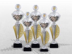 5er Pokalserie Pokale ATHEN mit Gravur PREMIUM DELUXE POKALE TOP DESGIN & PREIS