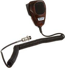 RoadPro TM-2007WG 4-Pin Noise Cancelling CB Microphone Wood Grain Finish