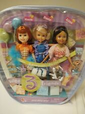 2004 Barbie Wee 3 Friends Party Party Party Stacie, Miranda & Alexa Giftset