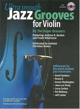 Ultra Smooth Jazz Grooves Para Violín Aprende A Tocar El Violín música Book & Cd