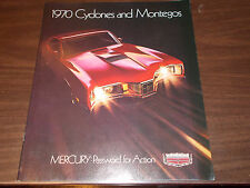 1970 Mercury Cyclone and Montego Deluxe Sales Catalog