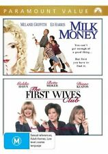 Milk Money / The First Wives Club (DVD, Region 4) - Brand New, Sealed