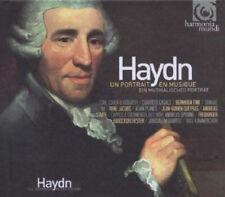286 // UN PORTRAIT EN MUSIQUE HAYDN COFFRET 2 CD + LIVRE NEUF