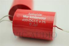 4PCS Audiophiler MKP Kondensotor 400V 10uf 3% Audio Capacitor 10.0uf Capacitance
