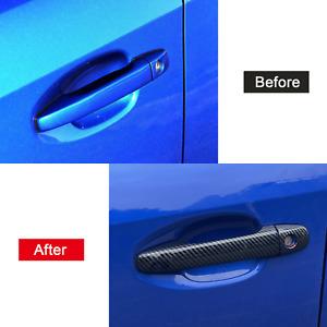 For Subaru WRX STi 2015-2020 ABS Exterior Door Handle Bowl Decor Cover Trim 4pcs