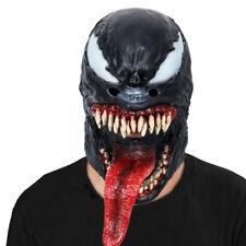 Venom Mask Edward Brock Mask Eddie Brock Cosplay Hallr 2018 Movie Cosplay mask