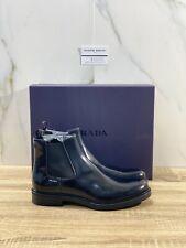 Prada Chelsea Boot Uomo 1 Linea Pelle Nera Polish Luxury Boot Men Prada 43