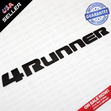 Matte Back 4Runner Liftgate Nameplate Emblem Badge Logo Tailgate Rear Letter