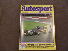 Autosport 11 December 1980 Mauro Baldi Castrol National Rally & Aurora F1 Review