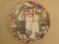 CORINNE LAYTON collector plate AFTERNOON TEA Keepsakes of the Heart #2