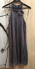 Robe Naf Naf gris taille 38 en soie neuf avec l'etiquette