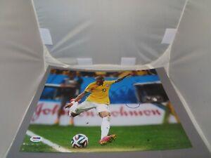 Neymar Jr. Signed 11x14 Photo Team Brazil Autographed PSA/DNA LOA 1B