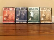 Ninjutsu Series (4) Dvd Set junan taiso taisabaki kamae hanbo kihon taihenjutsu