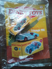 "DINKY TOYS TRIUMPH TR2 SCALA 1/43 - DE AGOSTINI 8 ""E"""