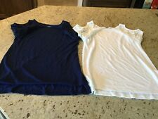 Women Tops Size Medium By St. Johns Bay Set Of Two