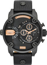 NEW DIESEL DZ7291 MENS LITTLE DADDY CHRONOGRAPH WATCH - 2 YEAR WARRANTY