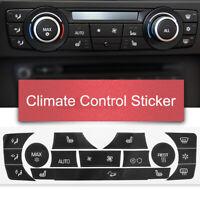 AC CLIMATE CONTROL BUTTON STICKER REPAIR KIT FOR BMW 3 SERIES E90 E91 E92