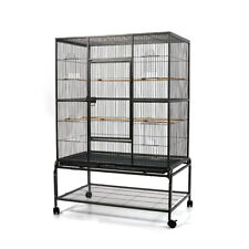 Stand-Alone Bird Cage on Wheels, Large - 140cm
