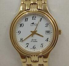 Watch Lotus Vintage 90's Nos. Plating Gold 5 Micron