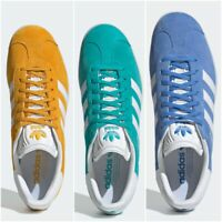 NEW Adidas Gazelles Suede Mens & Womens Trainers UK Size 3.5-13.5 Sneaker Shoes