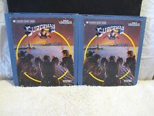 CED VideoDisc Superman II (1980) Warner Home Video, Part 1 & 2, Alexander Salkin