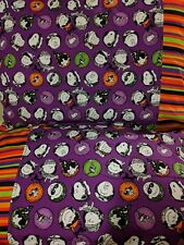 Snoopy Halloween pattern 2 100% new Cotton handmade Pillowcase one pair