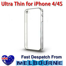 Ultra Clear Crystal Case Hard Slim Cover for iPhone 4 4G 4S