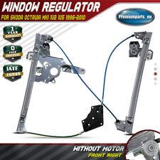 Window Regulator w/o Motor for Skoda Octavia MKI 1U2 1U5 Front Right 1U0837462B