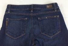PAIGE Roxie Capris Cropped Low Rise Dark Wash Stretch Jeans Women's Sz. 27