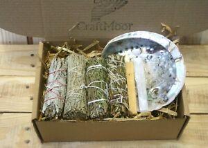 Smudging Sage Stick Variety Multipack Set - White Sage, Yerba Santa, Palo...