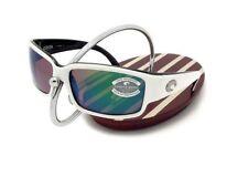 NEW Costa Del Mar CABALLITO White & Black / 580 Green Mirror Glass 580G