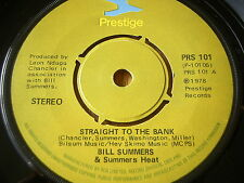 "BILL SUMMERS & Summer Heat-Tangente à la banque 7"" vinyle"