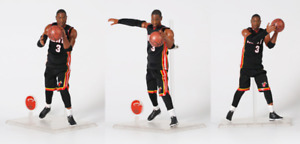 Real NBA Masterpiece Collection #3 Dwyane Wade 1/9 Action Figure New In Box