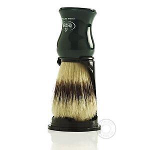 Omega 80265 Puro Setola Pennello da Barba - Verde
