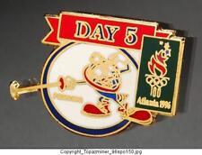 Olympic Pins 1996 Atlanta Mascot Izzy Fencing Day05