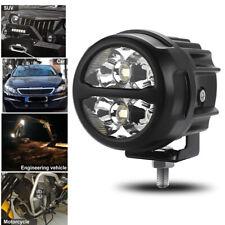 3inch Round Led Work Lights Bull Bar Fog Hid 6000k Driving Spot Lamp Offroad Suv