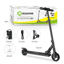 Megawheels Folding Electric Scooter 250W Aluminum Portable Black Teens E-Scooter