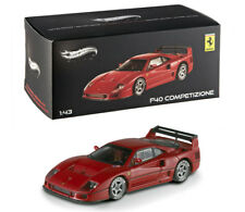 Ferrari F40 Competizione Rot Red 1:43 Modell Hot Wheels Elite X5507