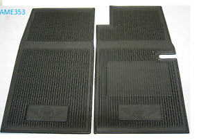 Austin-Healey Sprite  Rubber Front Foot well floor mats   948cc to 1275cc