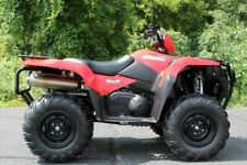 2017 Suzuki KingQuad 750Axi Power Steering, Red with 456 Miles available now!