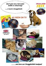 SnuggleSafe Microwave Heat Pad With Cover, Dog, Cat, Rabbit.