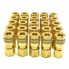 """25 FOSTER SG3203 3/8"""" FEMALE NPT X 1/4"""" INDUSTRIAL QUICK COUPLER BRASS FITTING"""