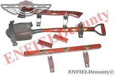 Pelle Hache pare-brise Rod Set échelle Accessoire JEEP WILLY FORD MB GBW CJ @AEs