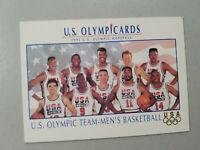 1992 Impel U.S Olympic Team Men's Basketball Card #18 USA NBA Basketball